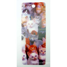 2015 Colorful Lenticular Bookmark for Promotion