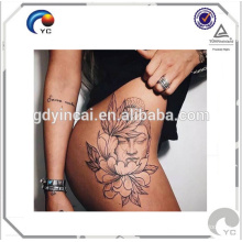 Bright Flower Tattoo Hips Don't Lilac body art temporary tattoo sticker Sexy hips tattoos body art temporary tattoo sticker <<< Hips sexy tattoo sticker with beauty design stylish and fashionable <<<