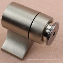 RDA-211 Messing Magnet Türstopper mit Satin Nickel Oberfläche