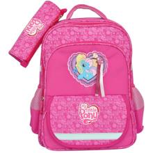 Cartoon school bag with pencil-box