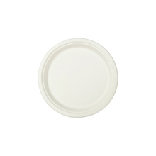 Biodegradable plates round disposable tableware sugarcane bagasse party plate