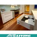 Meubles en bois modulaires modernes de cuisine de prix bas en gros usine (AIS-K972)