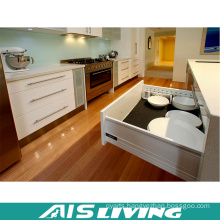 2016 Hot Sale Modern Design White Shaker Kitchen Cabinet Furniture (AIS-K600)