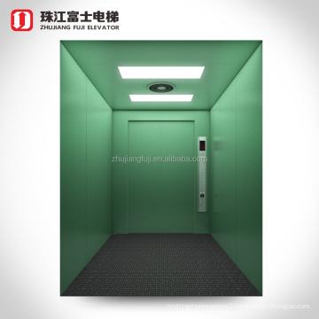China Supplier ZhuJiangFuJi Brand 2000~8000 kg light duty freight elevator