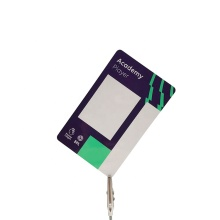 Cartão de impressão de plástico PVC CR80 personalizado