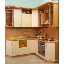 Gabinete de cocina brillante de MDF Mini (ZHUV)