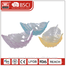 Bunte PS Plastikschüssel