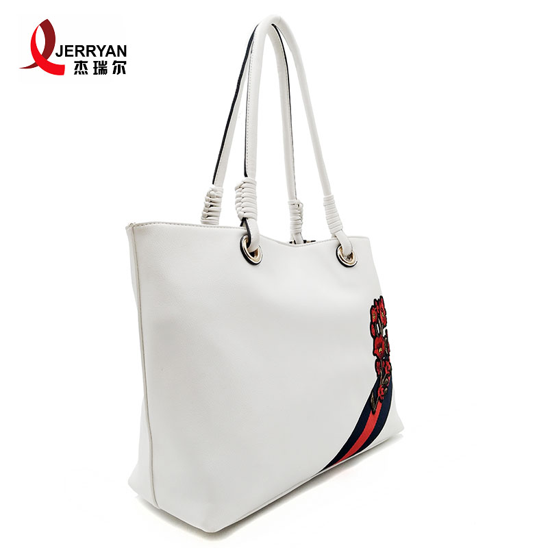 white designer bag