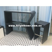 Mobiliario de ocio / silla de bar y mesa (conjunto de barras BP-912)