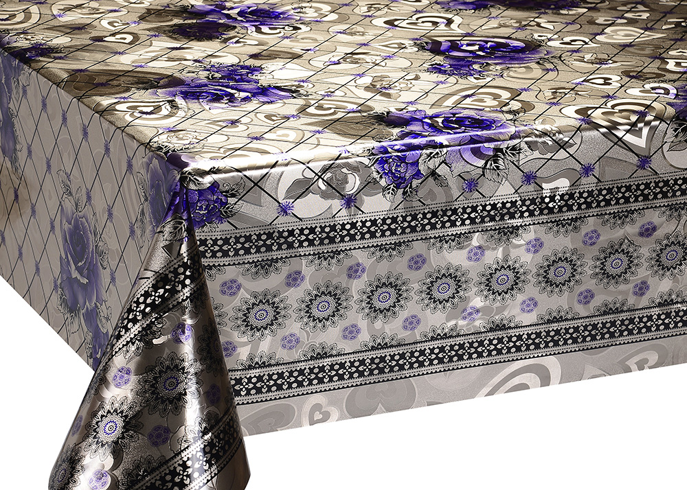 Mettalic Double Face Tablecloth