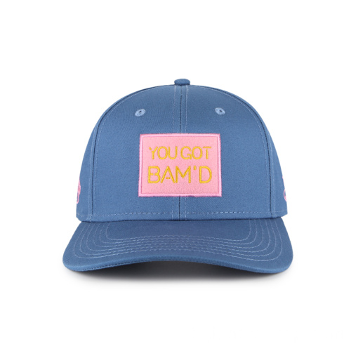 Casquette de baseball simple avec patch en feutre
