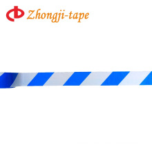 blue and white caution tape
