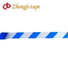 синий и белый предупреждение ленты
