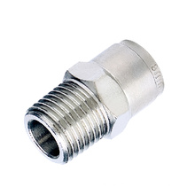 4mm 5mm 6mm 8mm BSP NPT G ZG Metal fittings connector joint union bent joint T type Y type