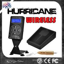 2015 venta caliente fuente de alimentación inalámbrica del tatuaje del huracán hp-2