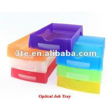 Лоток для плоских пластиковых лотков для оптических трубок