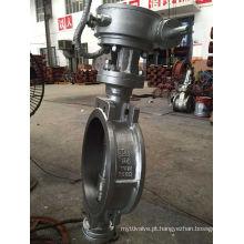 JIS 10k 300A Válvula Borboleta de Aço Carbono Wafer