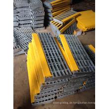 FEUERVERZINKTEN verzinkten fabrizierten Stahlvergitterung für Industrie-Boden und Abfluss Abdeckung