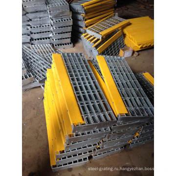 Горячего оцинкования готовых стальных решеток для промышленности пола и сливной крышки