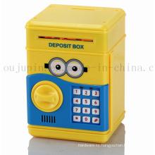 OEM Children Promotional Saving Money Box with Combination Lock
