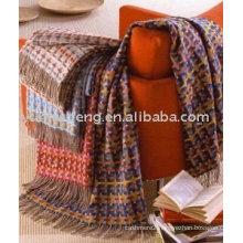 cheap & high quality fashion cashmere blanket