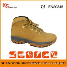 Cow Nubuck Leather Soft Rigger Safety Boots RS029