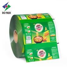 Rollo de película plástica de embalaje flexible para snack
