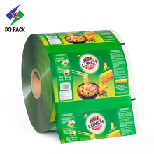 Flexible packaging plastic film roll for snack