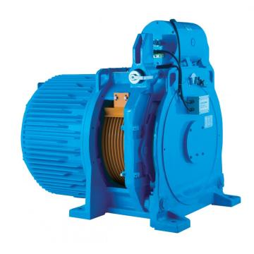 Gearless Permanent Magnet / Elevator Traction Machine 4000kg 3.0m / s WTYF380