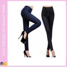 High Quality Plus Size Women Fashion Warm Fur Thick Jeans Tights (14348)