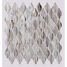 Bathroom Brown Glass Mosaic Wall Floor Tile Design