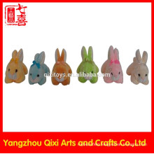 2015 best selling easter plush bunny very small plush mini bunny