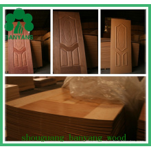 Wood Veneer HDF Door Skin with Cheaper Price