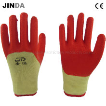 Latex Coated Crinkle Finish Industrial Labor Safety Work Gloves (LH501)