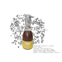 Mini Champagner Konfetti Popper 16cm