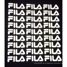 Hochsichtbare Hitzepresse Reflektierendes Logo Auf Etiketten aufbügeln