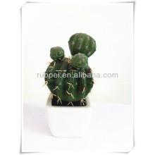 Lifelike мини искусственный кактус в горшке бонсай сделано в Китае
