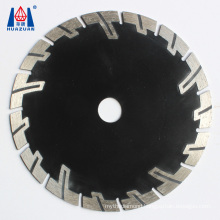 Special Design 110mm V Cut Grooved Saw Blade For Stone Cutting Without Water