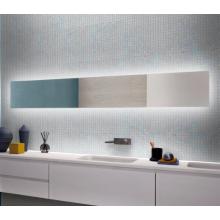 Стеклянная мозаика для отделки стен душевой