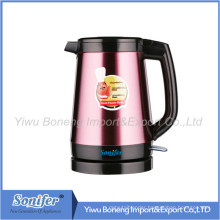 2.0 L Stainless Steel Electric Water Kettle Keep Warm Water Kettle Sf-2390 (Pink)