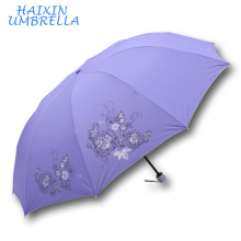 OEM ODM Zhejiang Hangzhou Todo tipo de paraguas Rain Gear 28 pulgadas 10K Extra Large Monsoon Traget Market paraguas 3 veces Yiwu
