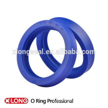Modern simple silicone colored rubber band rings