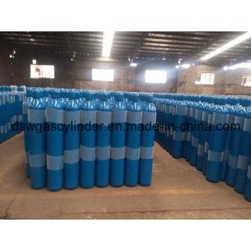 99.9% de gaz de coke rempli dans le gaz de cylindre de 8L avec la valve