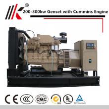 WITH CUMMINS ENGINE SILENT GENSET SOUNDPROOF 200KW DIESEL GENERATOR PRICE IN INDIA