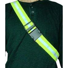 Wholesale Yellow polyester elastic High visible waist belt