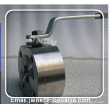 "Lever Operated Wafer Type Floating Ball Valve in 2"" Class 600"