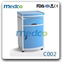 MED-C002 ABS Bedside Hospital Cabinet