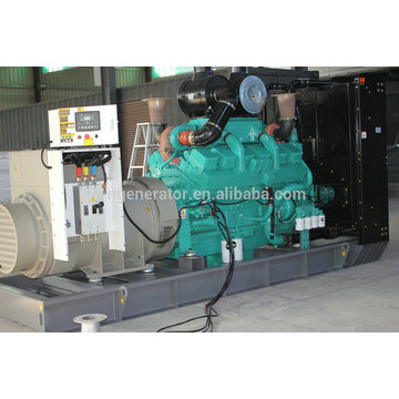 use for standby, Open or Silent type 650 kw diesel generator