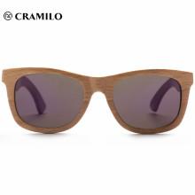 2018 gafas de sol de madera con marco retro chino bisagra de primavera