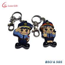 Мягкие ПВХ заказной высокое качество полиции связки ключей